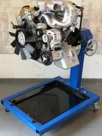 Model silnika rzędowego benzynowego