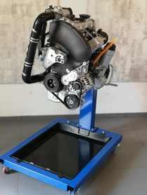 Model silnika rzędowego Diesel